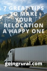 7 Great Tips To Make Your Relocation A Happy One