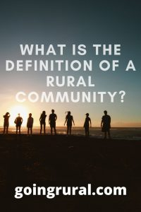 definition of a rural community