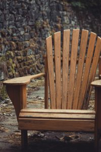 Wood Is A Common Choice For use outdoors