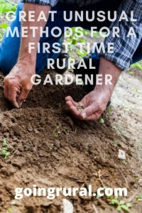 Great Unusual Methods For a First-Time Rural Gardener