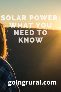Solar Power: what you need to know