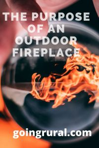 The Purpose Of An Outdoor Fireplace