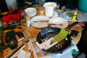 If Your Table Looks Like This  Maybe Its Time To Ditch The Clutter