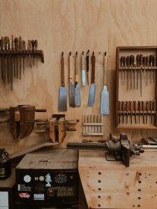 A Good Selection Of Hand Saws Can Be  Augmented With The Purchase Of A Bandsaw To Speed Up Your Work Process in your Home Woodwork Shop