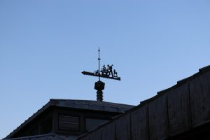 weathervanes can be simple or ornate