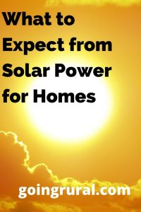 What to Expect from Solar Power for Homes